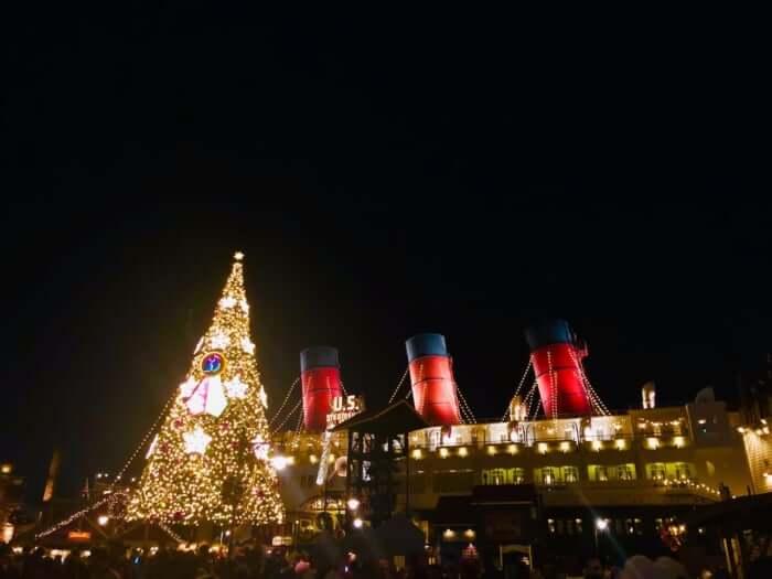 ディズニー クリスマス いつから